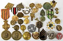 MEDAL BADGE AND PIN COLLECTION