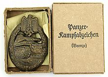 WWII GERMAN PANZER ASSAULT BADGE IN BOX