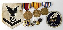 WWII USN SEABEES LOT