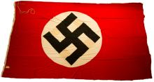 WWII LARGE GERMAN NSDAP FLAG