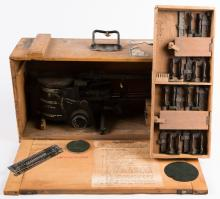WWII RAF MARK IX A COURSE SETTING BOMB SIGHT