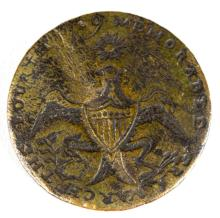 1789 GEORGE WASHINGTON INAUGURAL BUTTON