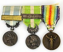 WWI FRENCH COLONIAL MEDALS