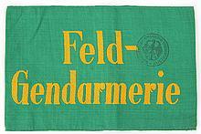 WWII GERMAN FELD - GENDARMERIE ARMBAND