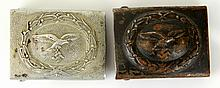 WWII GERMAN LUFTWAFFE BELT BUCKLE LOT OF 2