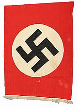 WWII GERMAN NSDAP NAZI PARTY PODIUM BANNER
