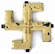 WWII GERMAN NORTH AFRICA VEHICLE SWASTIKA