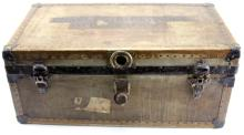 NAMED WWI US ARMY OFFICER'S TRUNK