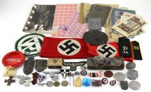 MIXED LOT OF WWII GERMAN ITEMS