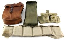 LOT OF MAGAZINE POUCHES MAGS STRIP CLIPS