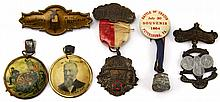 CIVIL WAR VETERANS REUNION PIN LOT