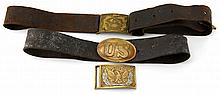 US INDIAN WARS BELT LOT