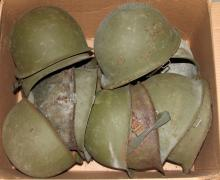 US M-1 HELMET LOT OF 11