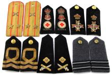 MIXED EUROPEAN SHOULDER BOARD LOT