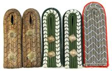 MIXED GERMAN SHOULDER BOARD LOT