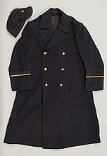 WWII JAPANESE POLICEMAN'S COAT AND HAT