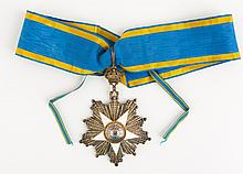 EGYPT ORDER OF THE NILE BADGE WITH SASH