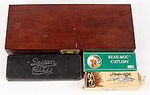 LOT OF 4 VINTAGE POCKET KNIVES IN BOXES