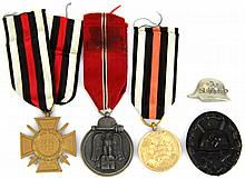 WWII GERMAN MEDAL LOT OF FIVE
