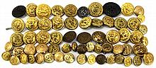 ANTIQUE NAVAL BUTTON COLLECTION