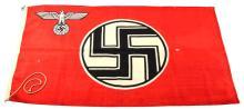 WWII GERMAN REICHSDIENST FLAG