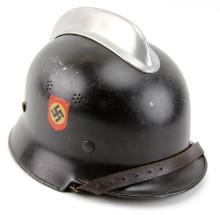 WWII GERMAN FIRE HELMET