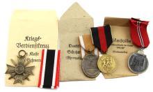 WWII GERMAN MEDAL LOT