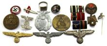 WWII GERMAN PIN LOT
