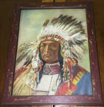 Antique Original Oil on Canvas Painting with Documentation on Reverse, 20x16