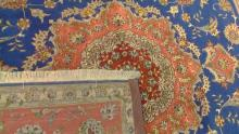 Square Fine Handmade Persian Rug with