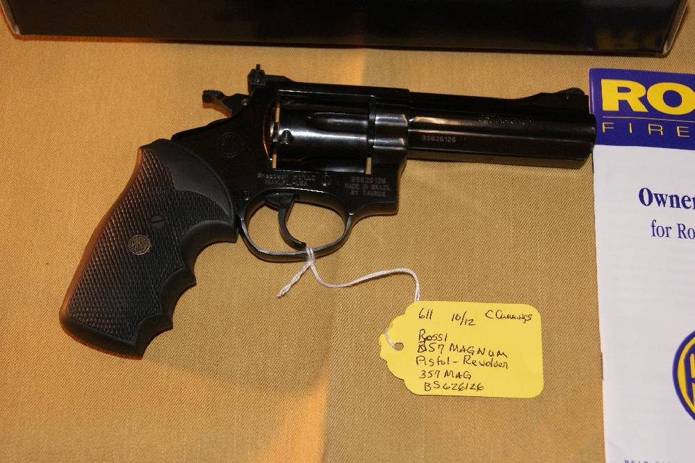 Rossi 357 Model 97-104 357 MAGNUM Pistol 4 inch barrel LNIB