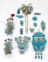 COLLECTION ANTIQUE KINGFISHER ORNAMENTS