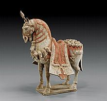 NORTHERN QI POTTERY PARADE HORSE