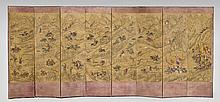 ANTIQUE KOREAN EIGHT PANEL-SCREEN