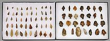 TWO CONTRASTING SETS OF NEANDERTHAL SPEAR POINTS