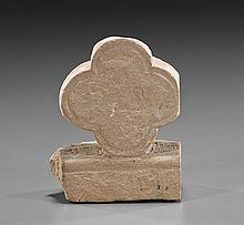 Early Stone Fragment of a Quatrefoil