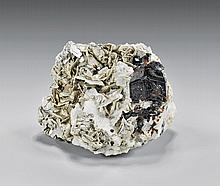 NATURAL GARNET WITH MUSCOVITE