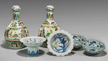 Six Various Chinese Porcelains