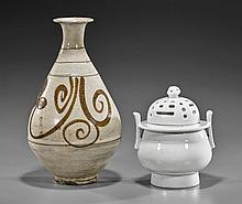 Two Korean Choson-Style Ceramics