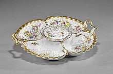 French Floral Porcelain Sweet-Meat Set