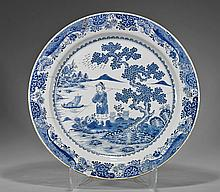 Massive Antique Chinese Export Porcelain Dish