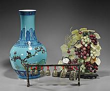 Three Various Chinese Decorative Items