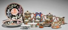 Eighteen Porcelains: Chinese & Japanese