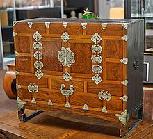 Old Korean Storage Cabinet/ Chest