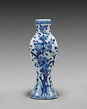 KANGXI PERIOD BLUE & WHITE VASE