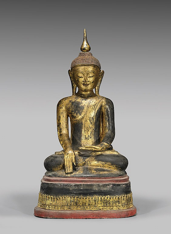buddha antique southeast asian