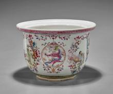 Chinese Famille Rose Porcelain Planter