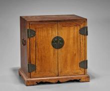 Chinese Carved Hardwood Storage Box