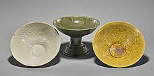 Three Early-Style Porcelain Bowls