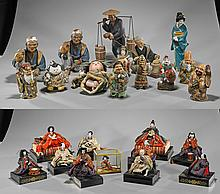Collection of Japanese Dolls & Figures